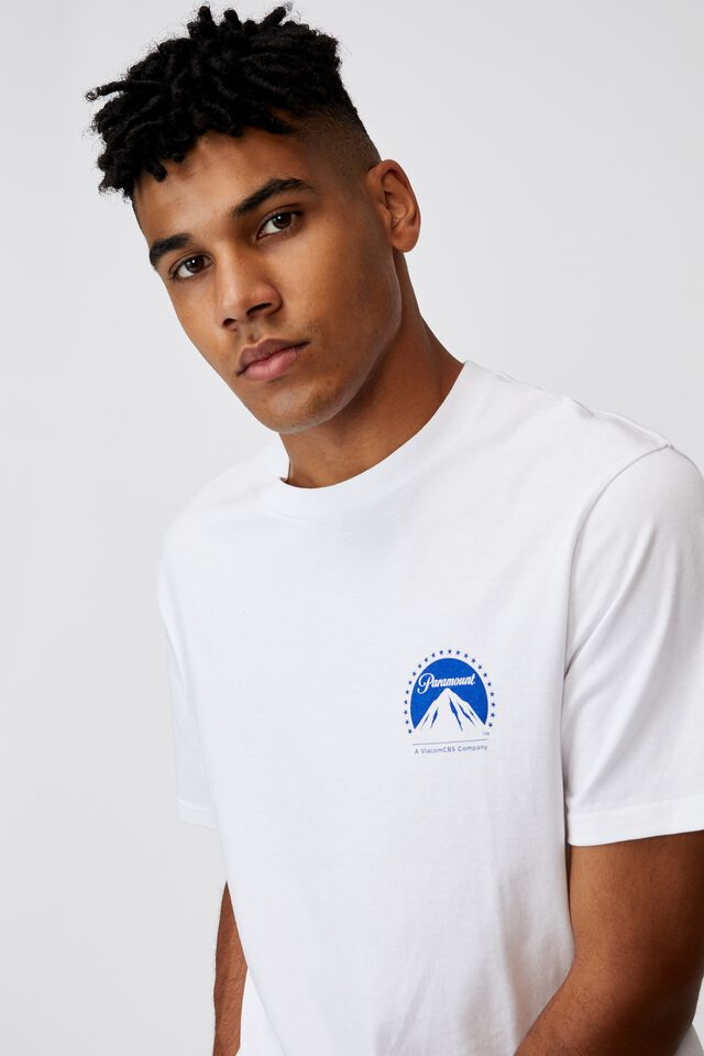Regular Pop Culture T Shirt, LCN PAR WHITE/PARAMOUNT
