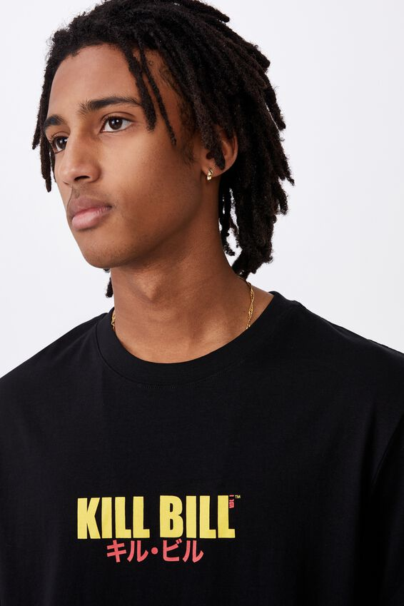 Regular License T Shirt, LCN MIR BLACK/KILL BILL VOL 1