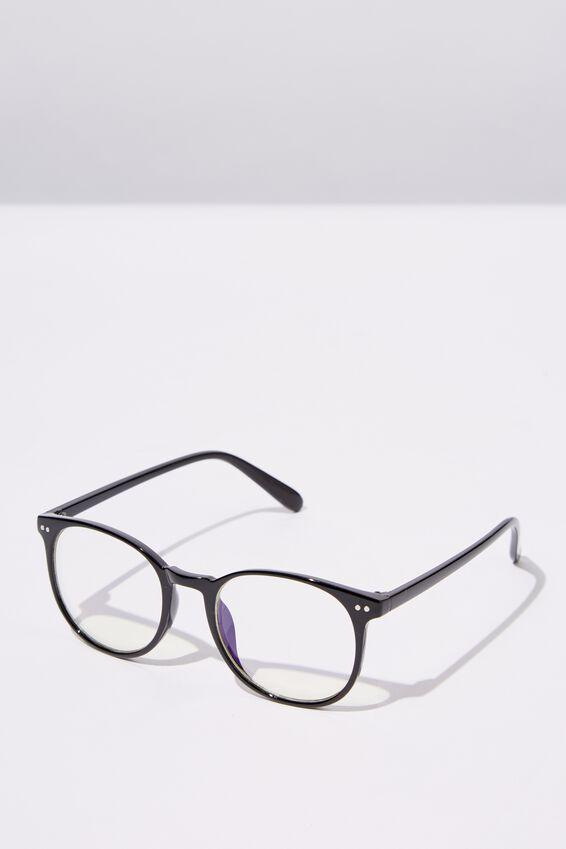 Blue Light Reader Glasses, S BLK_B-LIGHT