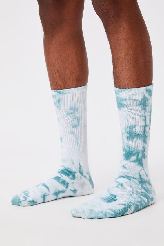 Retro Ribbed Socks,