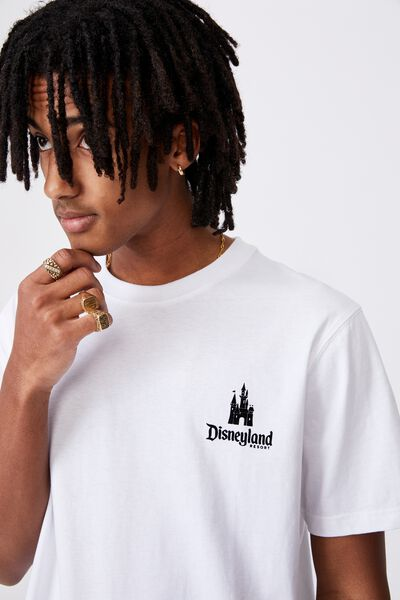 Regular License T Shirt, LCN DIS WHITE/DISNEY CASTLE