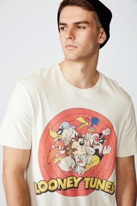 Regular License T Shirt, IVORY/LOONEY TUNES