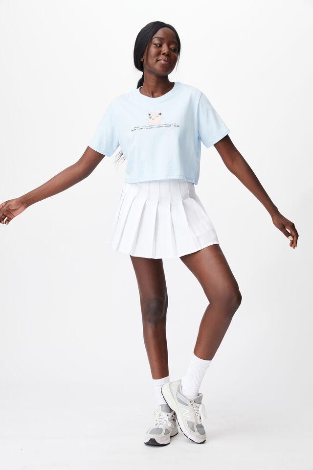 Lcn Cropped Gaming T Shirt, LCN POK SKYWAY/JIGGLYPUFF DETAILS