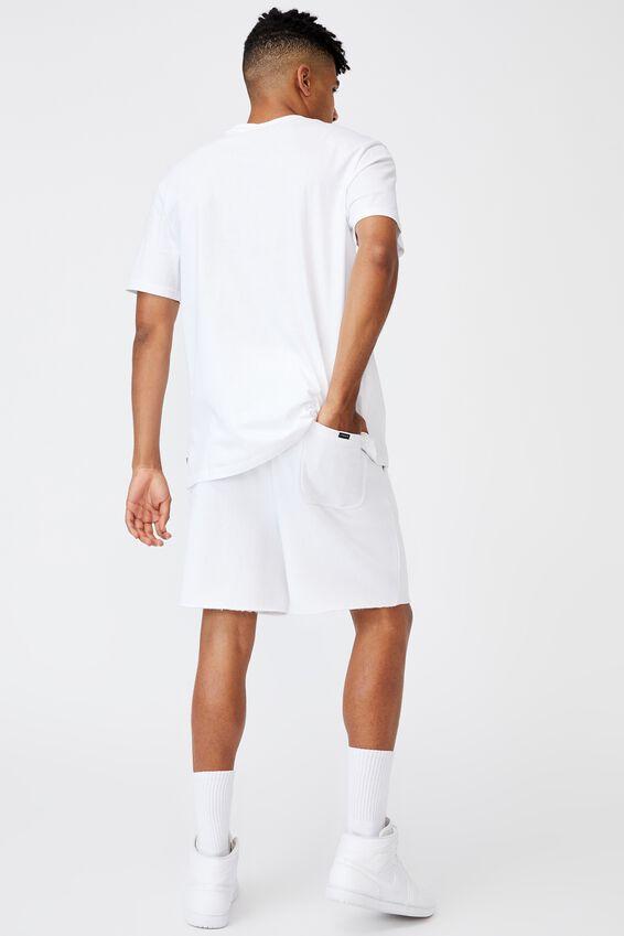 Regular Pop Culture T Shirt, LCN PAD WHITE/PARENTAL ADVISORY SMALL