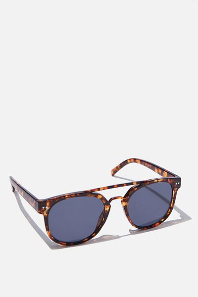 Guys Topbar Sunglasses, TORT