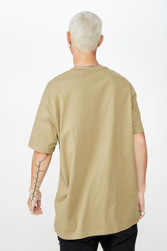 Regular T Shirt, KHAKI