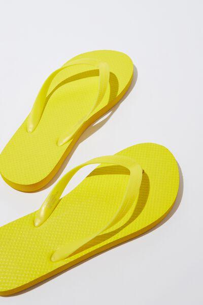 Flip Flop, NEON YELLOW