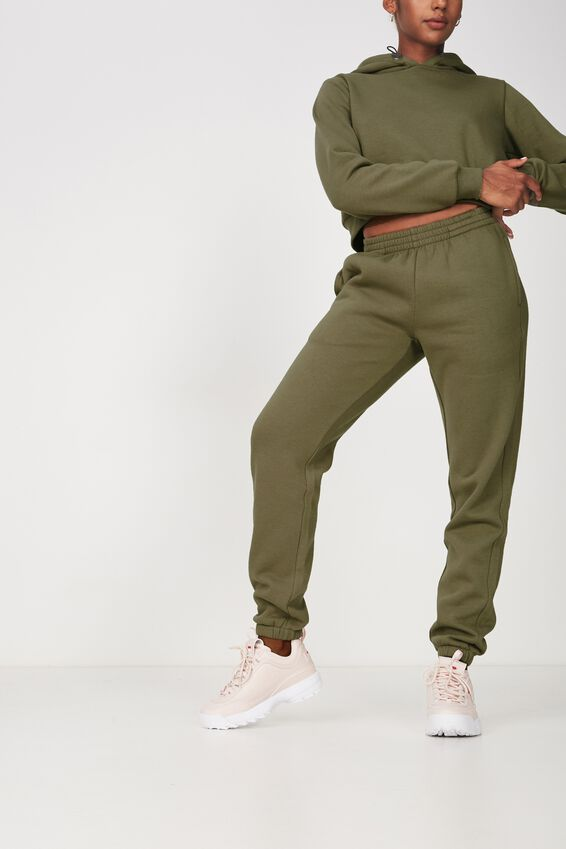 Classic Trackpant, WASHED KHAKI