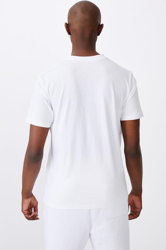 Regular Graphic T Shirt, WHITE/BE GOOD DO GOOD