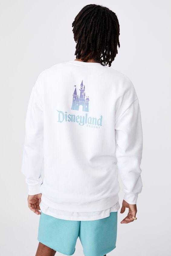 Disney License Crew, LCN DIS WHITE/DISNEYLAND