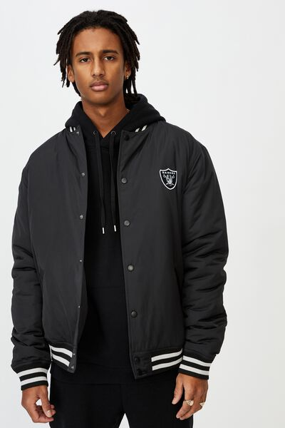 License Bomber Jacket, BLACK RAIDERS