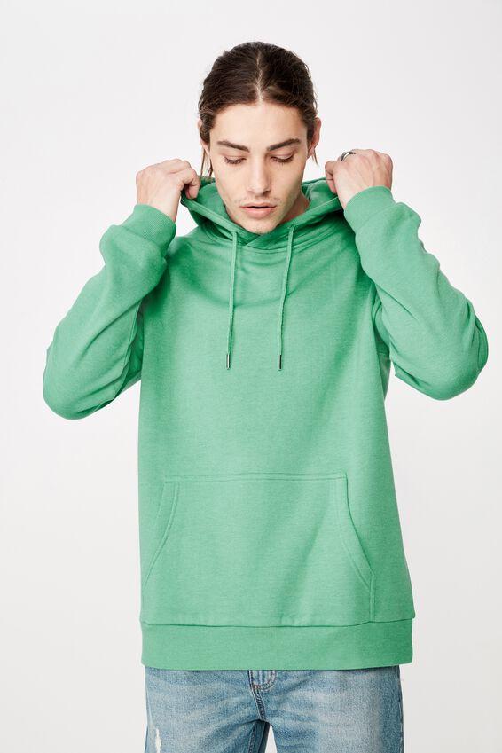 Basic Hoodie, GREEN