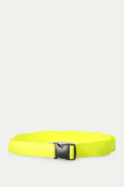 Clasp Belt, NEON YELLOW