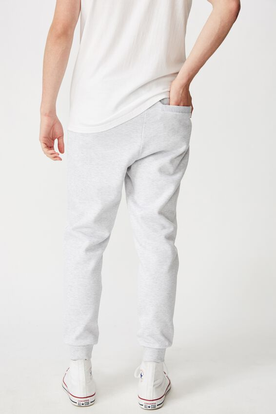 Basic Track Pant, GREY MARLE