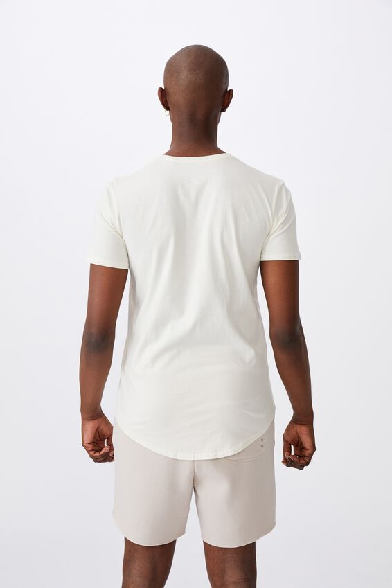 Curved Graphic T Shirt, IVORY/UNLIMITED