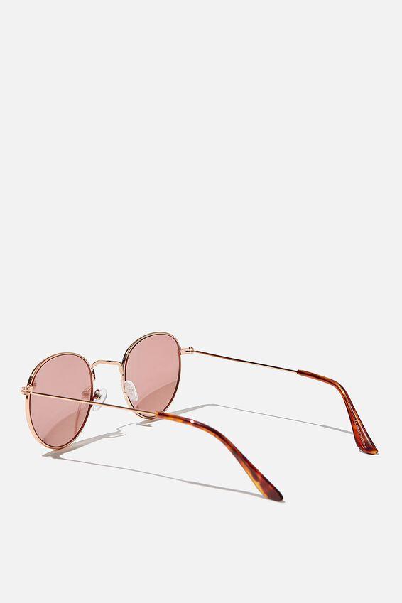Splendour Round Sunglasses, ROSE TINT