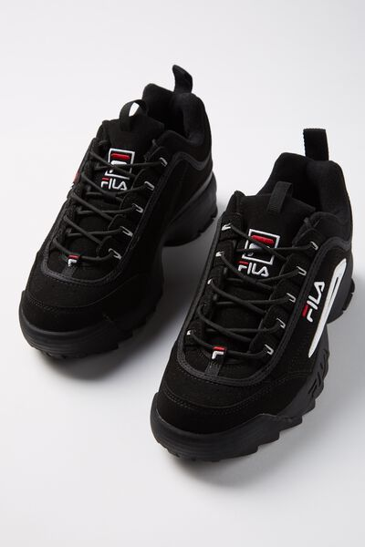Guys Fila Disruptor 2 Ii, BLACK