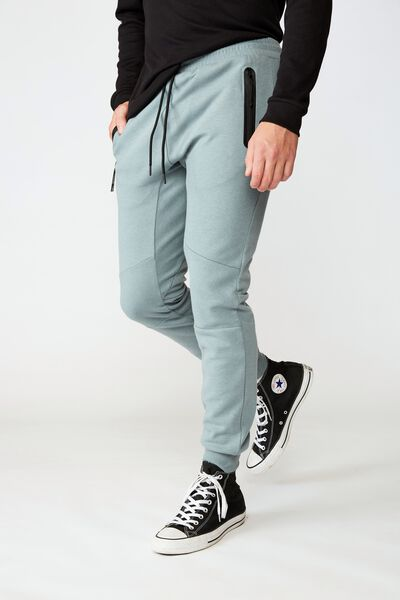 Tech Track Pant, STORMY SEA