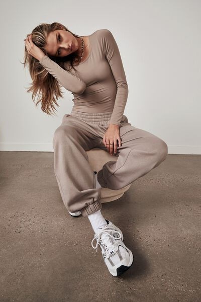 Super Slouchy Trackpant, ETHEREA