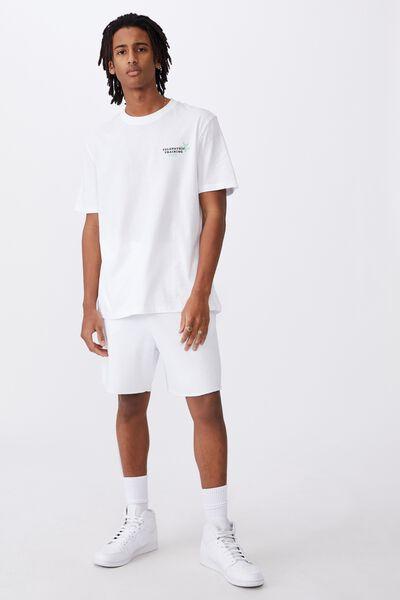 Regular Graphic T Shirt, WHITE/TELEPATHIC TRAINING