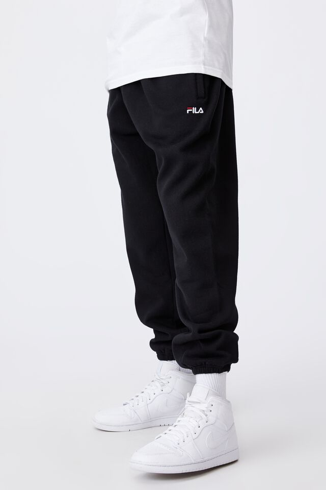 Fila Lcn Classic Relaxed Track Pant, BLACK