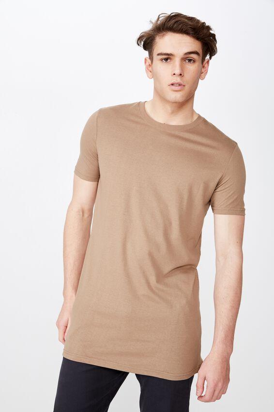 Longline T Shirt, CARIBOU