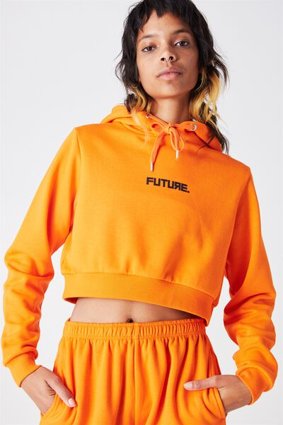 Core Crop Hoodie, PUFFINS BILL_FUTURE