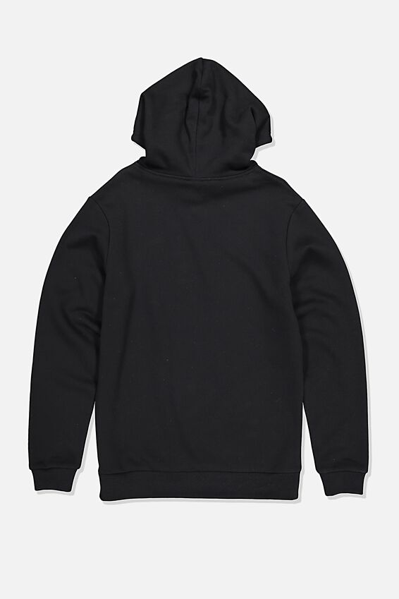 License Graphic Hoodie, BLACK/RATM BATTLE OF LA