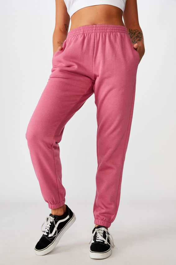 Classic Trackpant, RUBY PLUM