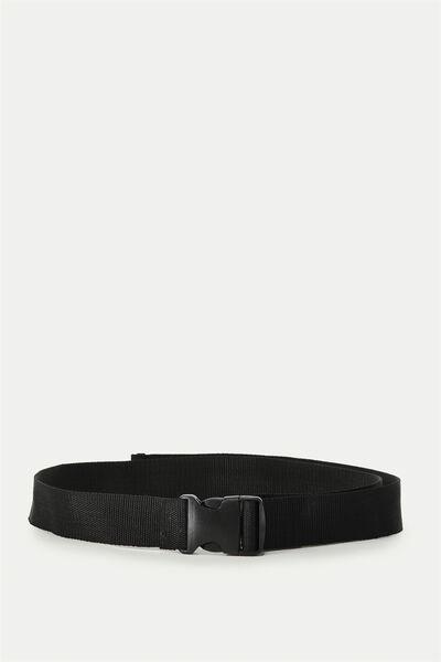 Clasp Belt, BLACK