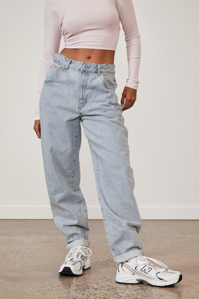 Slouchy Jean, BRIGHT BLUE