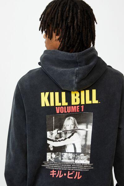 Elevated License Hoodie, LCN MIR WASHED BLACK/ KILL BILL