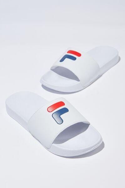 Fila Lcn Slides, WHITE_F