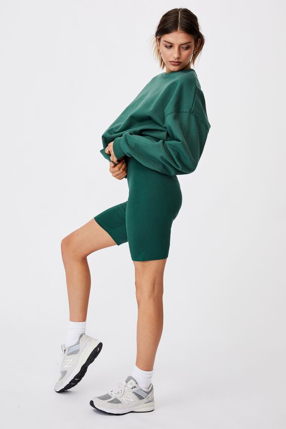 Basic Bike Short, TREKKING GREEN