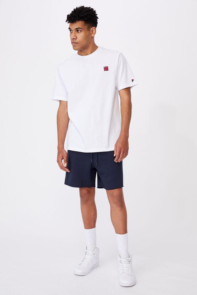 Fila Lcn Box T Shirt, WHITE/FILA BOX