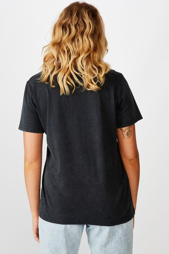 Lcn Relaxed Graphic T Shirt, WASHED BLACK/SMASHING PUMPKINS