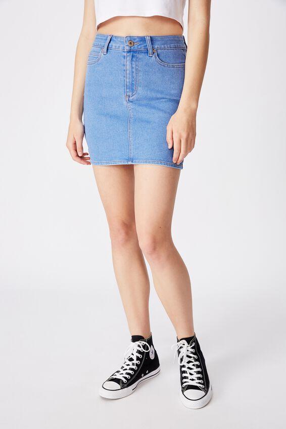 Malibu Stretch Skirt, BRILLIANT BLUE