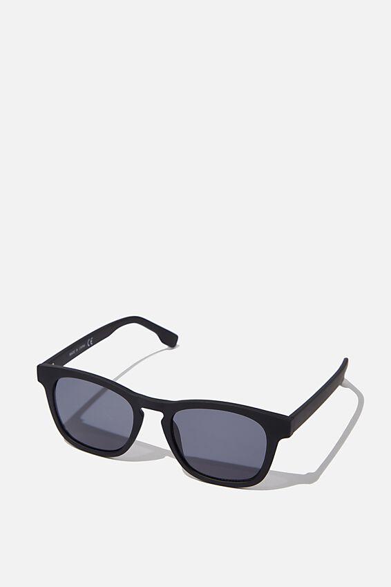 Waymax Sunglasses, BLACK RUB_BLK TINT