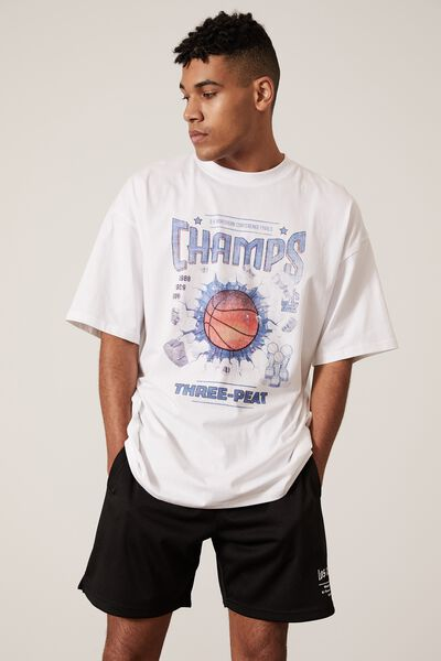 Basketball Short, BLACK/LA