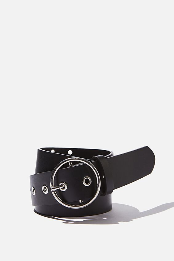 Chain Belt, BLK_ROUND SIL