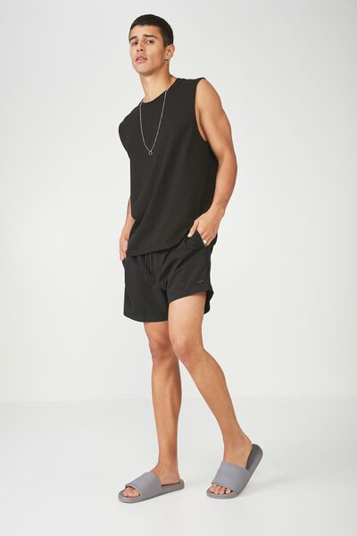 Swim Short, BLACK