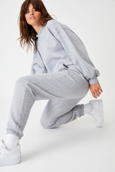 Classic Trackpant, GREY MARLE