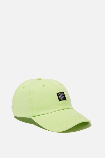 Dad Cap, NEON LIME