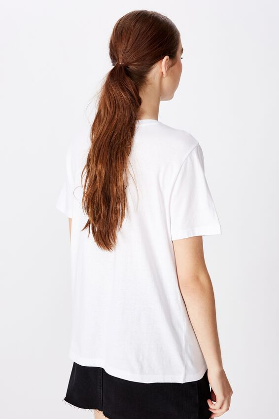 Relaxed Graphic T Shirt, WHITE/THANKS FOR NOTHING