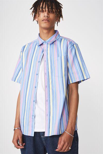 Ss Oversized Shirt, PANAMA STRIPE