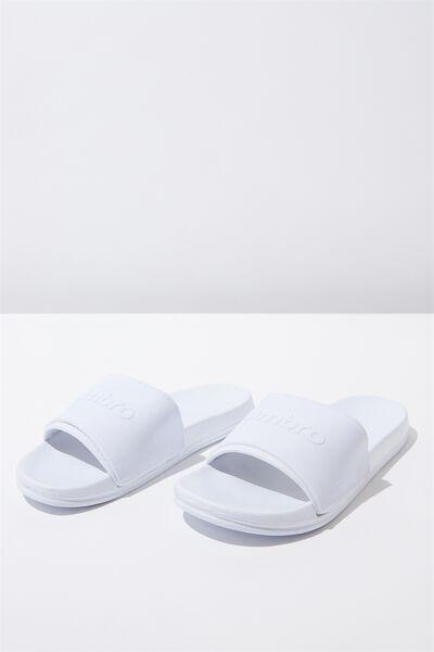 Umbro Neo Slide, WHITE