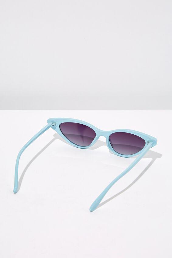 Splendour Cateye Sunglasses, S BABY BLUE_BRU
