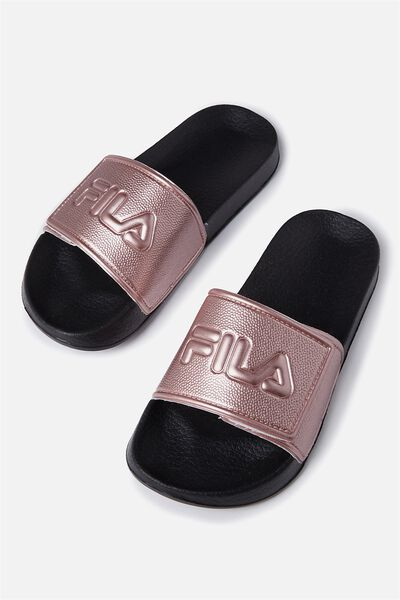Fila Lcn Slide Ii, ROSE GOLD VELCRO