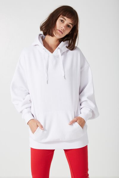 Orlando Oversized Hoodie, OPTIC WHITE