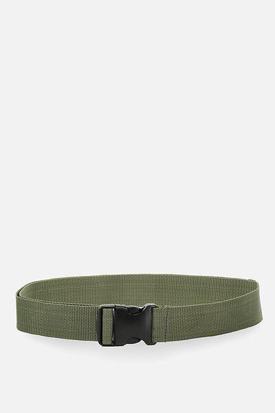 Clasp Belt, KHAKI